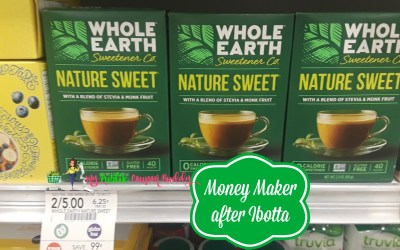 Whole Earth Sweetener Money Maker after Ibotta at Publix