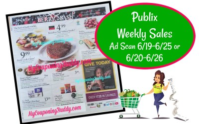 Publix Weekly Sale Ad Scan 6/19-6/25 or 6/20-6/26