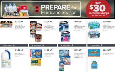 Prepare for Hurricane Season Publix Coupon Book 6/15 – 7/13