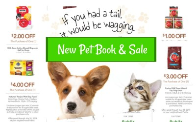 New Pet Book & Sale 6/26 – 7/9 or 6/27 -7/10