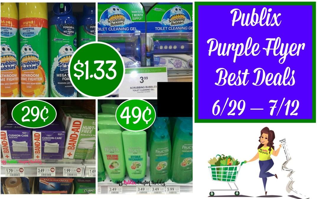 Publix Purple Flyer Best Deals 6/29 – 7/12