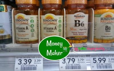 Money Maker on Sundown Vitamins at Publix