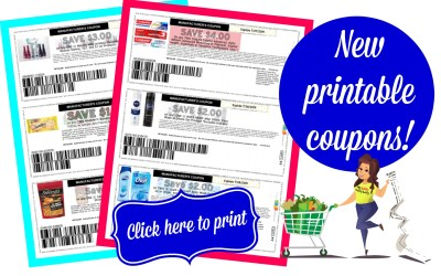 Click Here to Print TONS of HOT New Printable Coupons