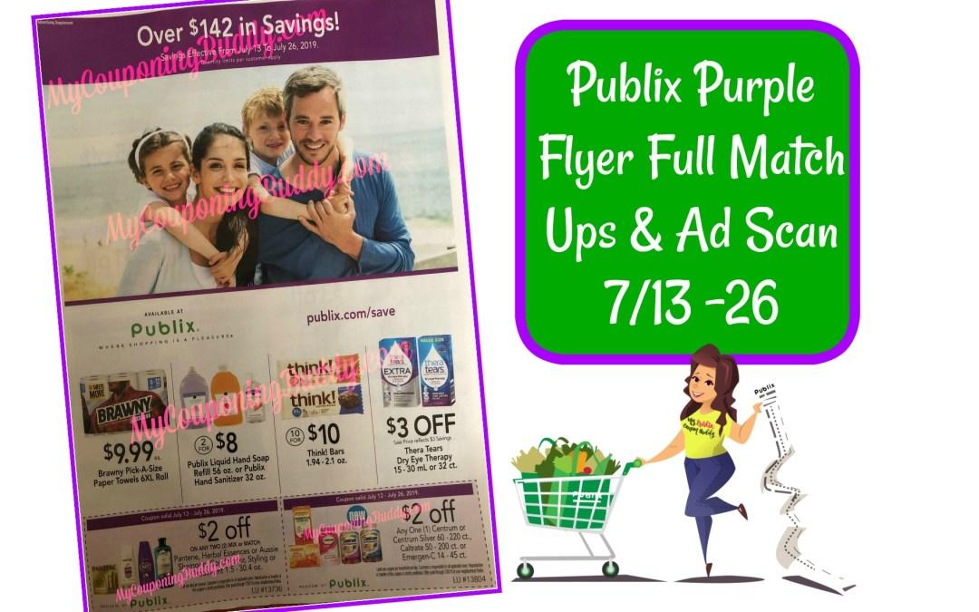 Publix Purple Flyer Full Match Ups & Ad Scan 7/13 -26