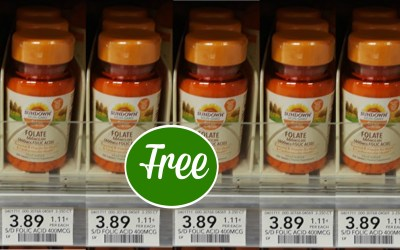 Sundown Vitamins Free at Publix