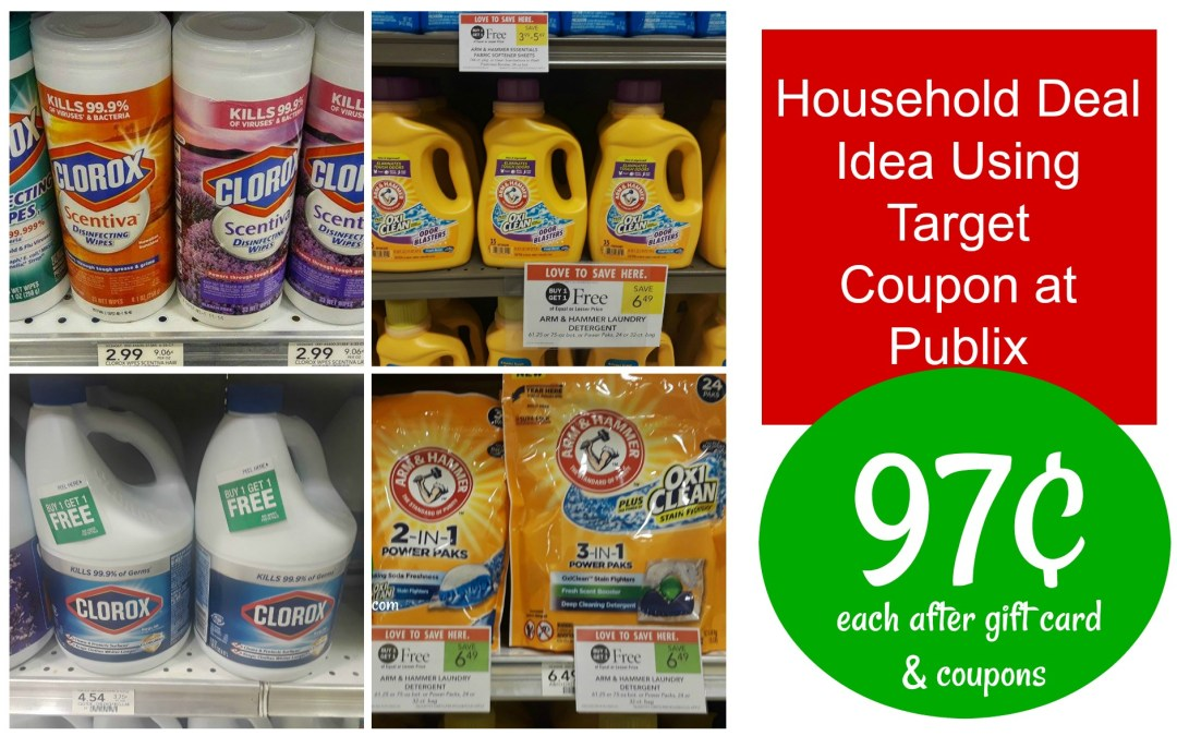 Household Deal Scenario using Target Coupon at Publix