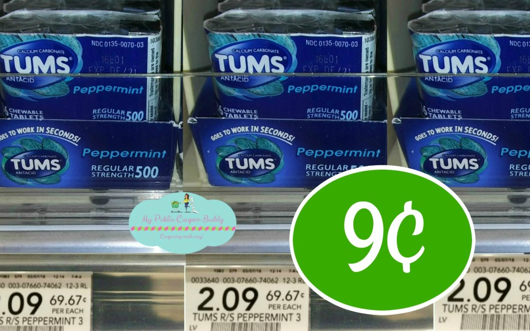 tums Antiacid Publix Couponing Deal