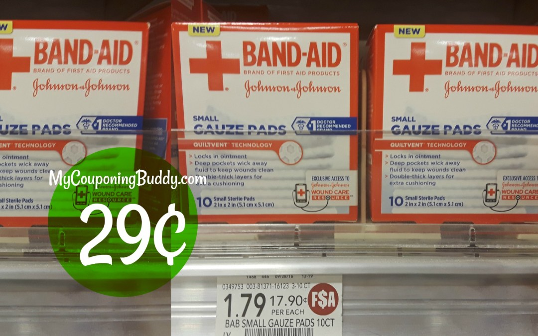 band aid Publix Couponing Deal