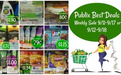 Publix Best Deals Weekly Sale 9/11-9/17 or 9/12-9/18