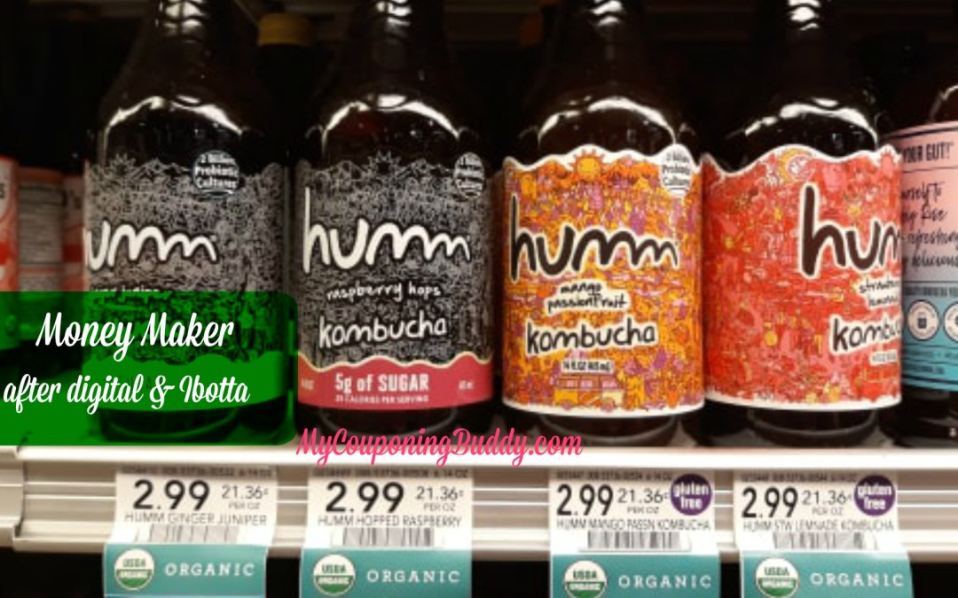 Humm Kombucha money maker at Publix