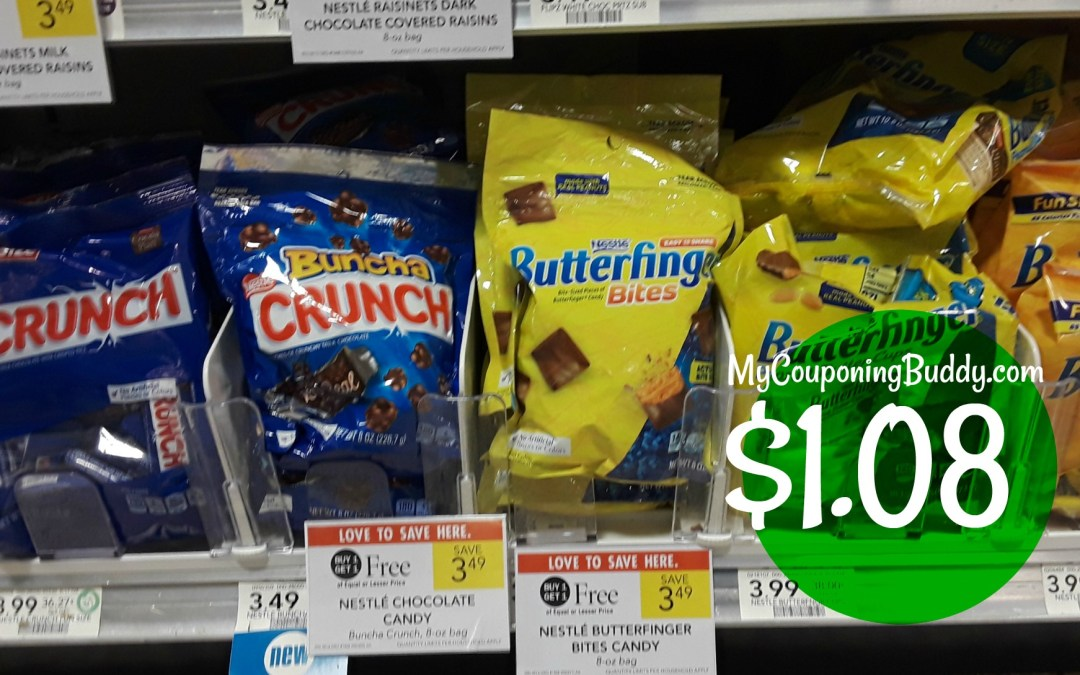 Nestle Candy just $1.08 at Publix