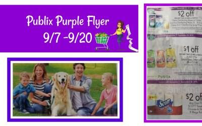 Publix Purple Flyer Best Deals 9/7 – 9/20