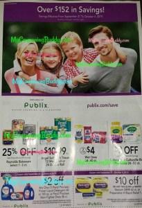Publix Purple Flyer Coupon9/21 - 10/4