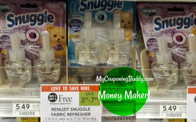 Money Maker on Snuggle Oil Refills at Publix
