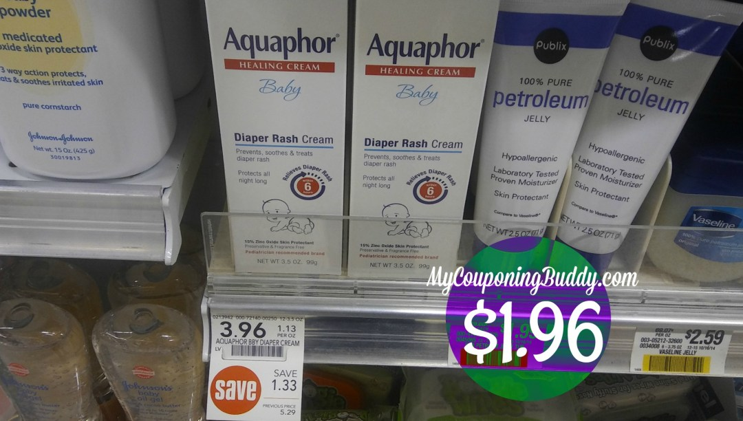 Aquaphor Diaper Rash Publix