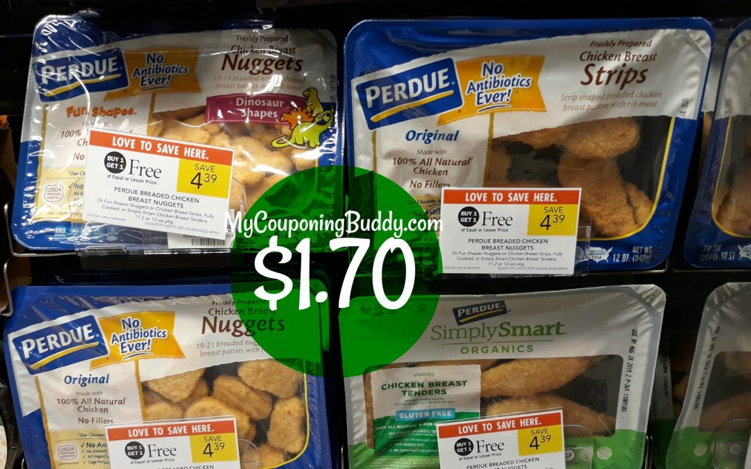 Perdue Chicken Nuggets $1.70 at Publix