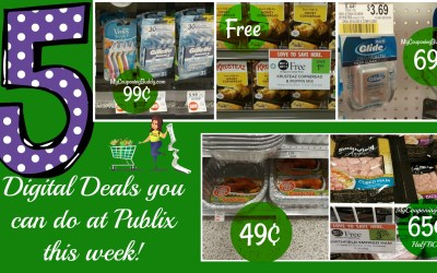 5 Digital Deals you can do this week at Publix