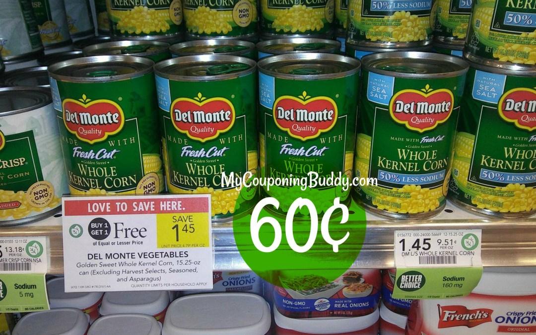 Del Monte Canned Vegetables Publix BOGO