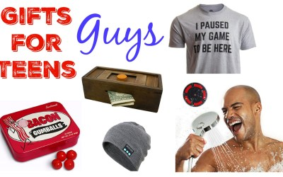 5 Gifts for Teen Boys!