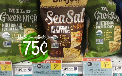 Late July Chips as low as 75¢ at Publix