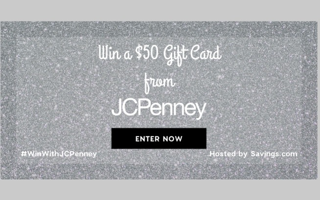 JCP is giving away $50 Giftcards!