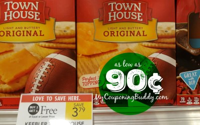 Keebler Townhouse Crackers as low as 90¢ at Publix
