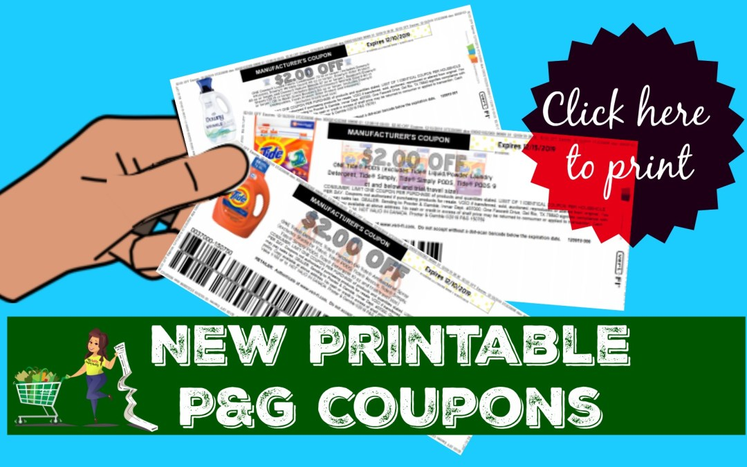 New Printable P G Coupons Tide Gain And More My Publix Coupon Buddy