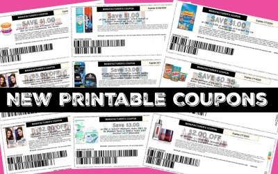 New Printable coupons ~ Schick, Friskies and more