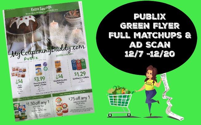 Publix Green Flyer 12/7/19 -12/20/19