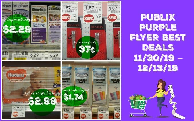 Publix Purple FlyerBest Deals 11/30/19 – 12/13/19