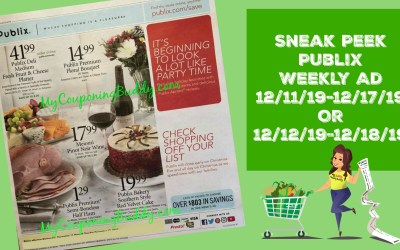 Publix Weekly Ad & Full Matchups 12/11/19-12/17/19 Or 12/12/19-12/18/19