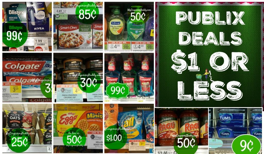 Publix $1 or less deals