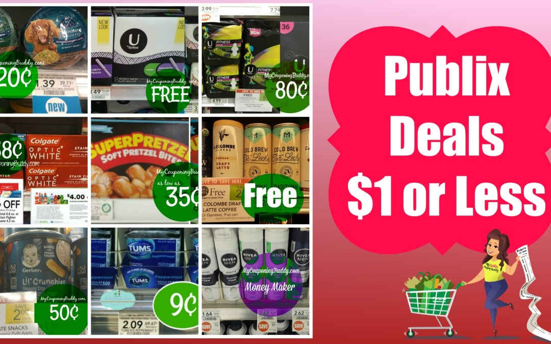 $1 or less deals at Publix