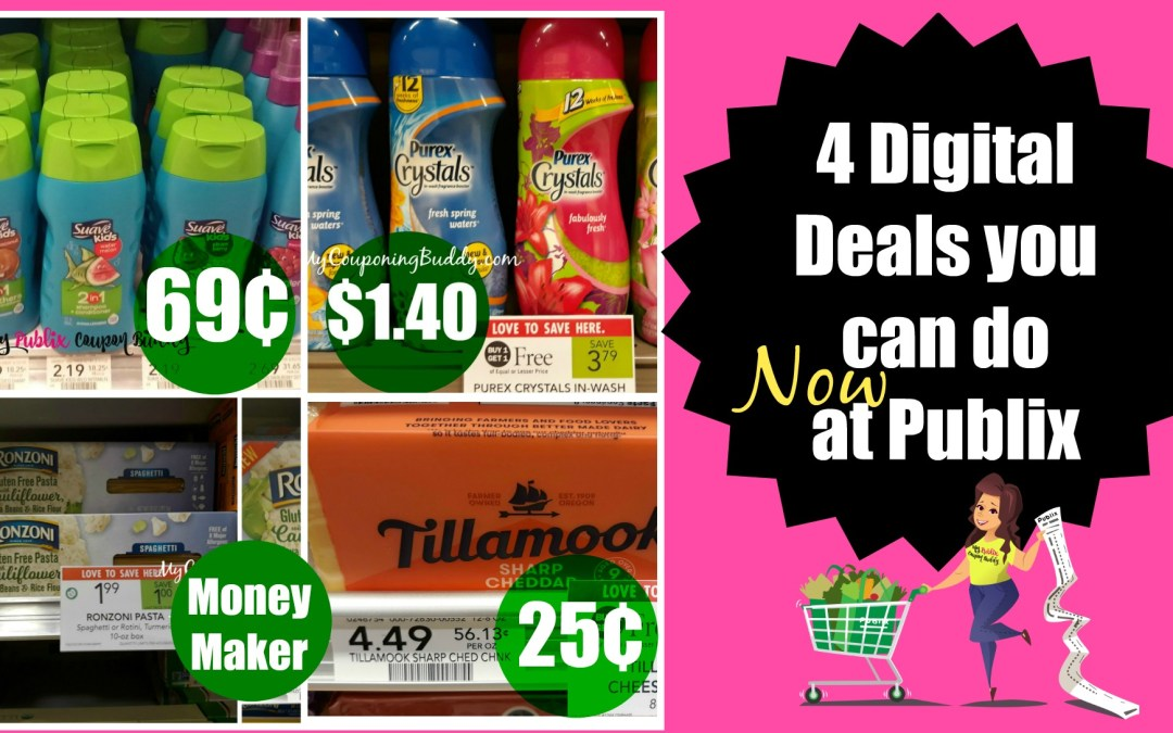 4 Digital coupon deals you can do at Publix