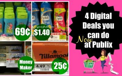 4 Digital coupon deals you can do at Publix