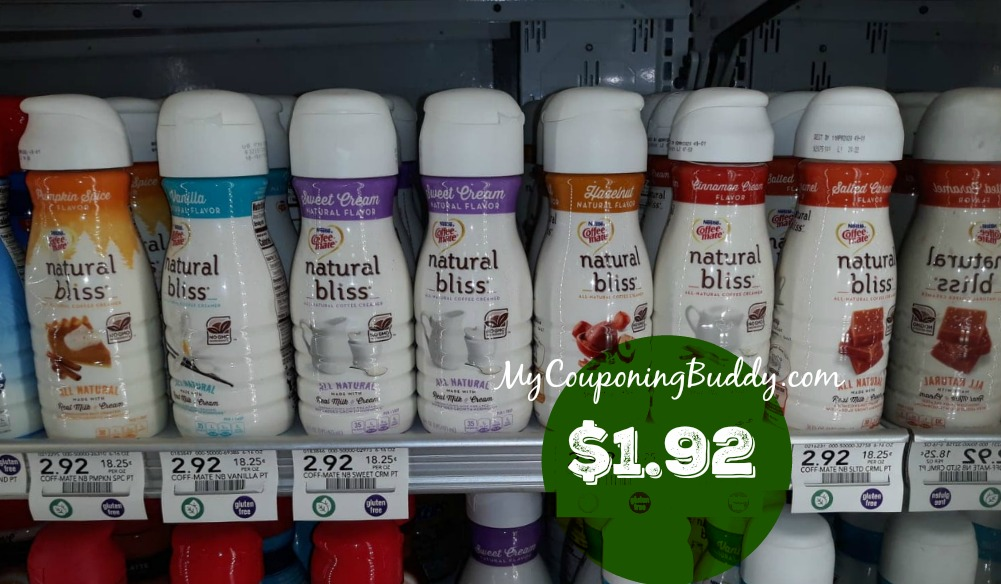 Coffee-Mate Natural Bliss Publix