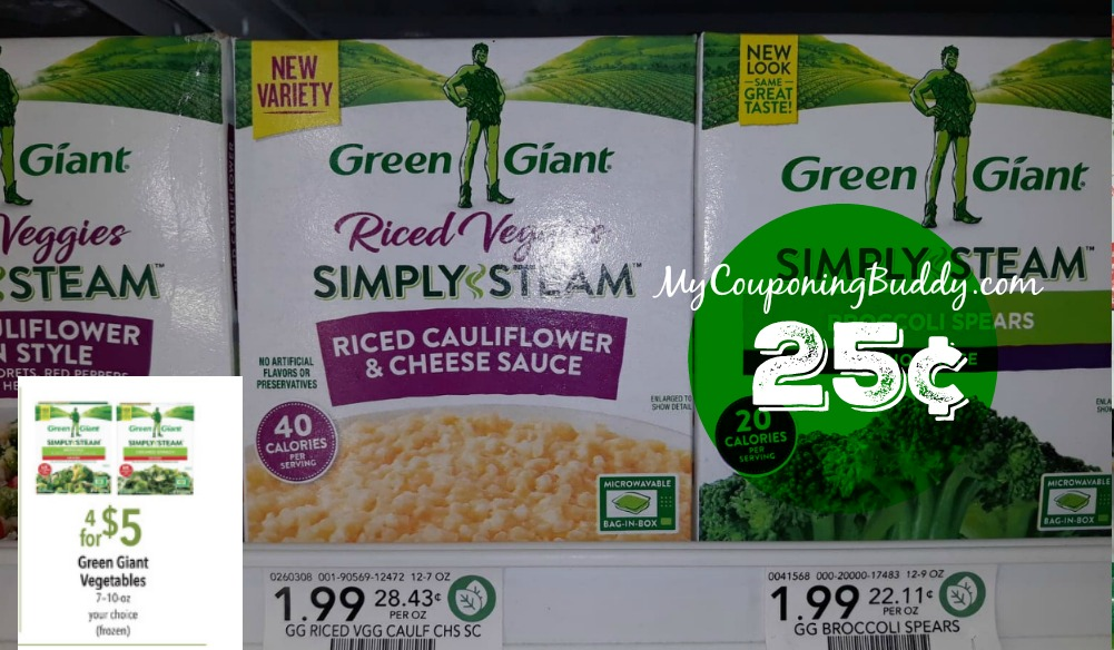 Green Giant Riced Veggies Publix