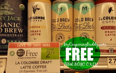 La Colombe Coffee FREE ( for True BOGO Shoppers) at Publix