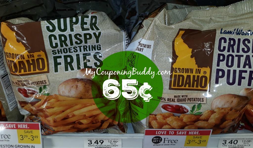 Lamb Weston Fries 65¢ at Publix