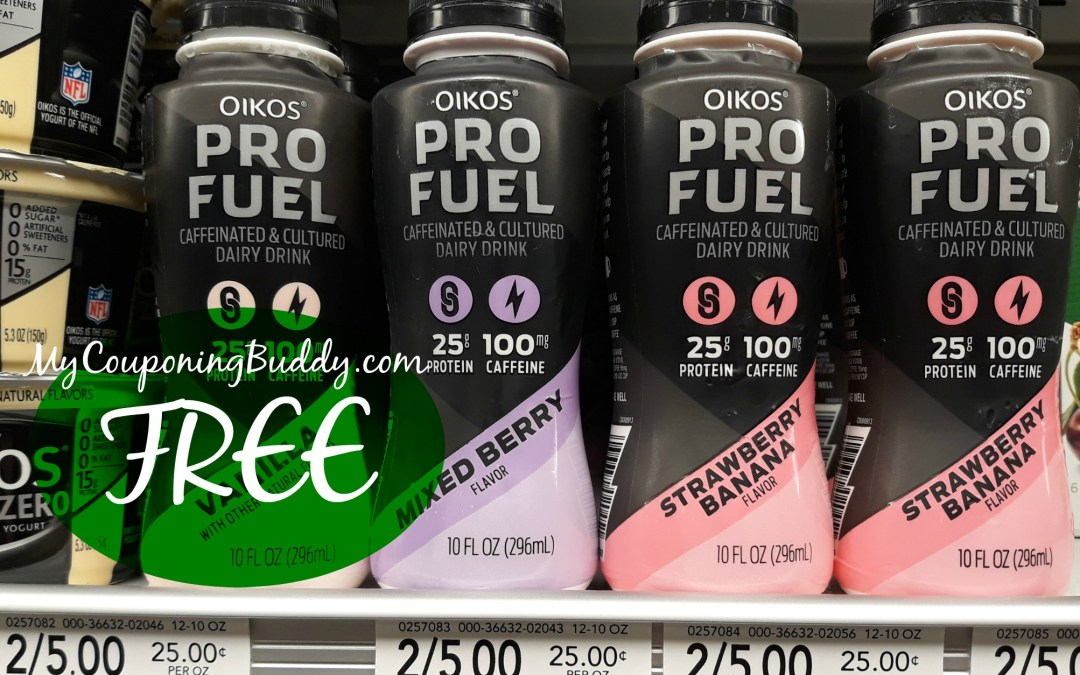 Oikos Pro Fuel Free at Publix