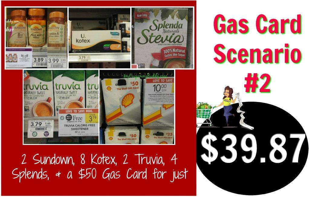 Publix Gas Card Scenario #2