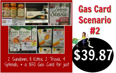 Publix Gas Card Scenario #2
