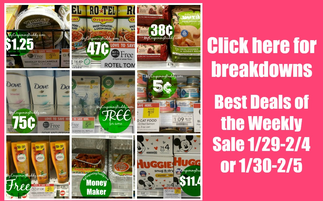 Best Deals of the Publix Weekly Sale 1/29-2/4 or 1/30-2/5