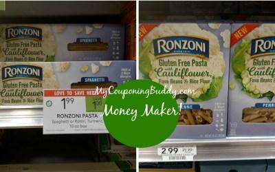 Ronzoni Cauliflower Pasta Money Maker after Ibotta at Publix