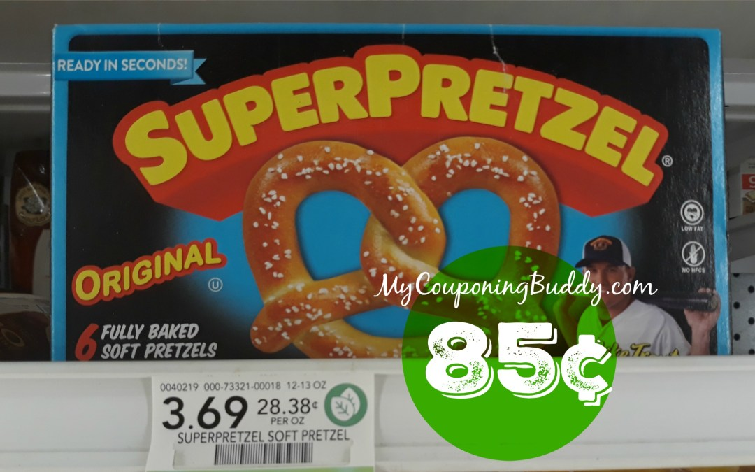 Super Pretzel 85¢ at Publix