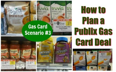 How to Plan a Publix Gas Card Deal & Scenario #3