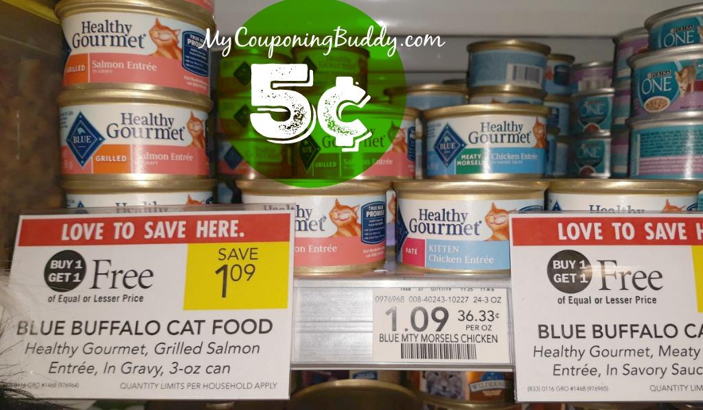 healthy gourmet blue cat food Publix