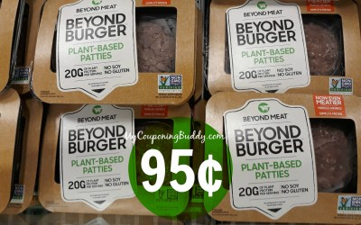 Beyond Meat Burgers as low as 95¢ at Publix