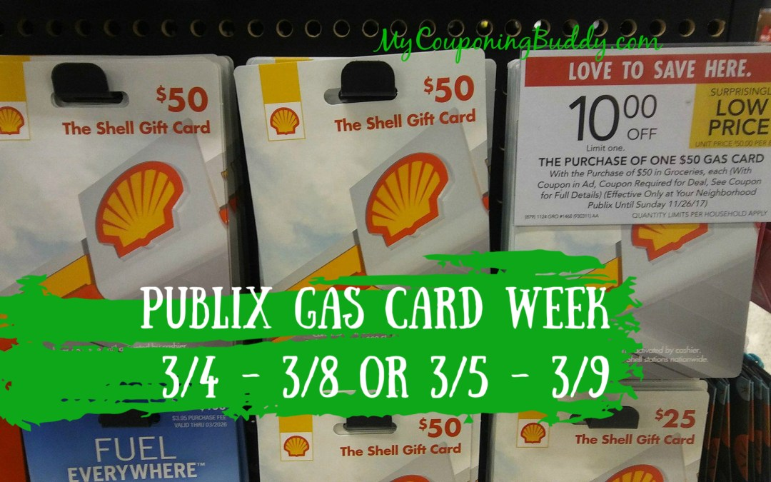 Gas Card Week 3_4 - 3_8 or 3_5 - 3_9