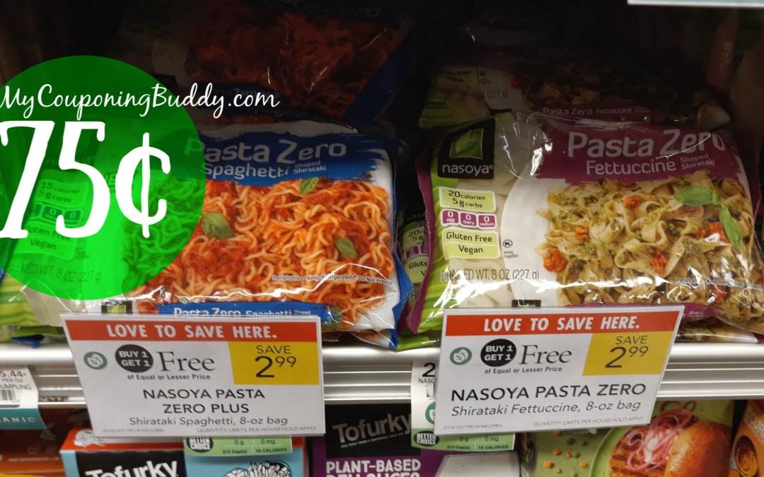Nasoya 75¢ Pasta Publix